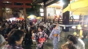 須賀神社1モザイク